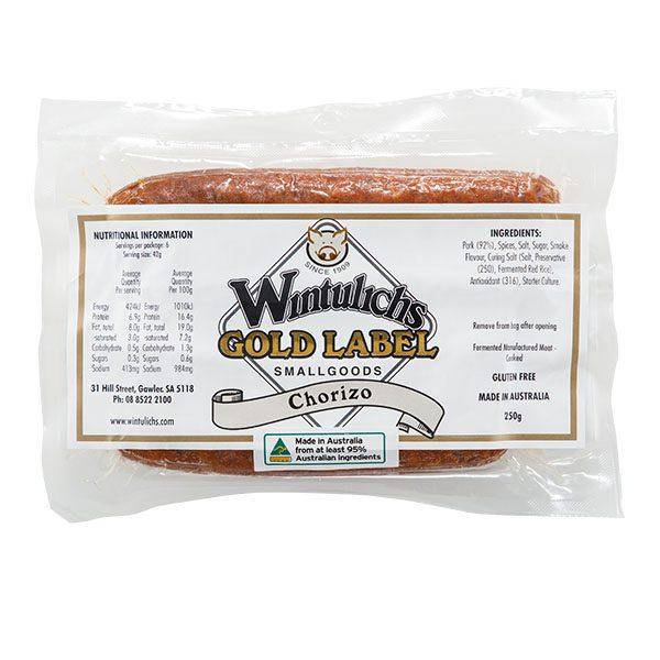 Gold Label Chorizo 250g