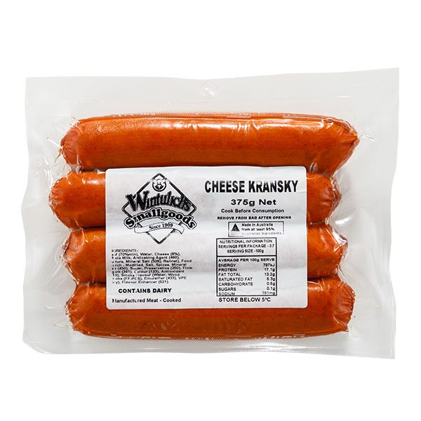 Cheese Kransky 375g